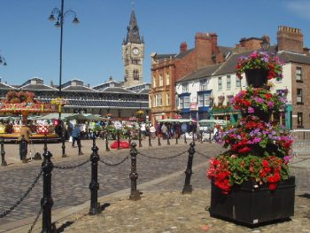 Darlington in summer